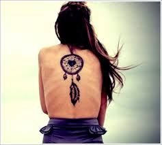 Cute Dream Catcher Tattoos Cute Girl BAck Body Dreamcatcher Tattoo 45
