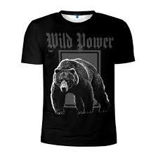 <b>Футболки</b> с принтом медведя - купить в интернет магазине ...
