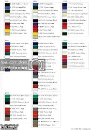 R Color Chart Integra Color Codes Get Rid Of Wiring Diagram Problem