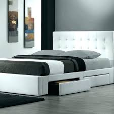 White Low Bed Frame Low Bed Frames Queen White Frame Cheap White Bed ...