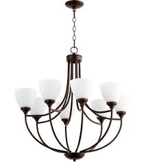 quorum 6059 8 86 enclave 8 light 30 inch oiled bronze chandelier ceiling light