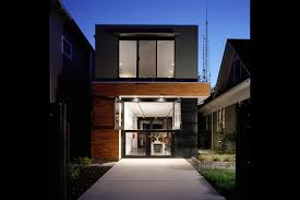 White Off Wall Modern Roof Balcony Home With The Garage Combined - High end exterior doors