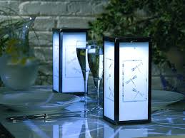 outdoor patio table light