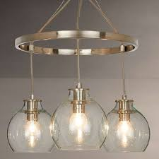 3 Pendant Ceiling Light Croft Collection Selsey Semi Flush 3 Pendant Ceiling Light