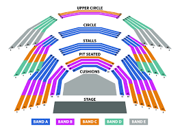Allen Elizabethan Theatre Seating Chart Rose Theatre Seating Plan London Theatre Tickets