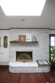 How To White Wash How To Whitewash A Brick Fireplace Run To Radiance