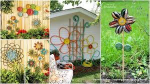 simple low budget diy garden art flower yard projects to do 001 1 ideas