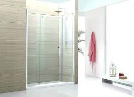 install glass shower door cost