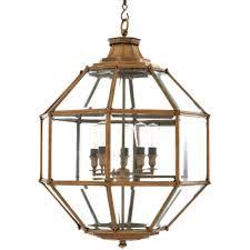 eichholtz owen lantern traditional pendant lighting. Eichholtz Owen Lantern Traditional Pendant Lighting. - Antique Brass Large Shopcade: Lighting C