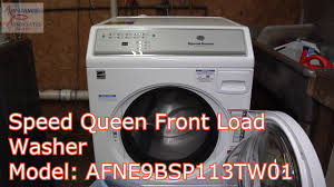 speed queen afne9bsp113tw01. Perfect Queen AFNE9BSP113TW01 Speed Queen Front Load Heavy Duty CYCLE Washing Two  Delivery Blankets To Afne9bsp113tw01 4