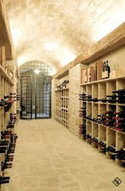 This is the kind of wine cellar that I would want.for my Trader Joe box wine.  Todi Villa by Alhadeff Architects
