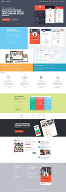 25 Unique Online Resume Template Ideas On Pinterest Online Cv