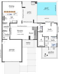 guest house pool house floor plans simple house pool guest house plans beautiful swimming for