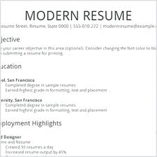 plain text resume examples resume text resume builder