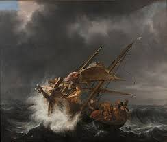 What does his power over the natural elements tell us about his future kingdom rule? Calming The Storm Wikipedia