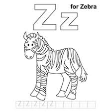 Color by number printables are so much fun! Top 10 Free Printable Letter Z Coloring Pages Online