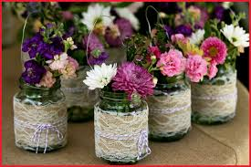 Decorated Jars For Weddings Fresh Decorations with Mason Jars for A Wedding Image Of Wedding 2