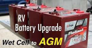 wet cell vs agm batteries & rv wiring tips wiring 6 volt batteries in series and parallel at Trojan Golf Cart Batteries Wiring Diagram