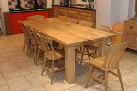 kitchen table. cheap farmhouse kitchen table with bench old chairs converted into a farm i