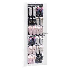 Shoe Organizer Amazoncom Over The Door Shoe Organizer Maidmax 24 Mesh Pockets