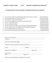 Simple Survey Form Alimie Co