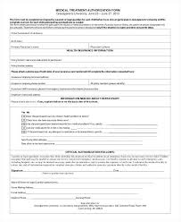 Medical Release Form Sample For Child Example Minor – Iinan.co