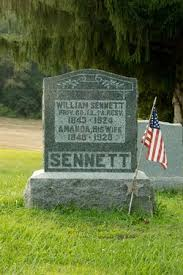 Amanda Cornman Sennett (1840-1928) - Find A Grave Memorial