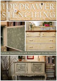 stenciling furniture ideas. furniture stenciling ideas with chalk paint decorative by annie sloan stockists royal design studio a