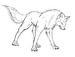 Realistic Wolf Coloring Pages To Print Animal Coloring Pages Of