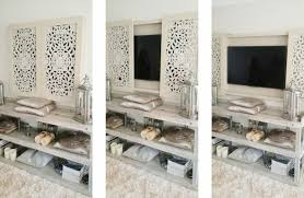 Hide your tv Cabinet Eye Candy 10 Ways To Hide Or Disguise Your Tv Curbly Hidden Tv Tricks 20 Ways To Decorate Around Or Disguise Your Tv