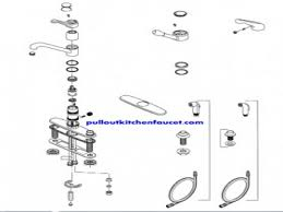 Moen Chateau Kitchen Faucet Moen Single Handle Kitchen Faucet Repair Diagram Mosaickitchencom