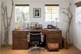 cozy home office. cozy countryrustic home office by tineke triggs