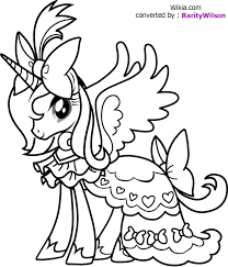 Small Picture My Little Pony Coloring Pages Coloring Kids
