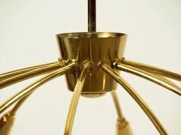 12 arm chandelier 1950s 4