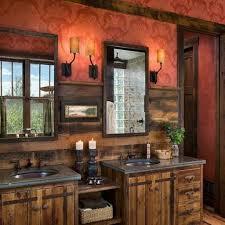 rustic bathroom double vanity. Fine Rustic Double Rustic Bathroom Vanity With Reclaimed Metal Doors Ideas Sinks  Cabinets Storage Intended Rustic Bathroom Double Vanity 0