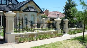 Small Picture Front Wall Fence Designs And Home Design Wood Rail 2017 Images
