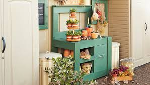How To Build A Portable Potting Bench  Garden Cart  Todayu0027s Plans For A Potting Bench