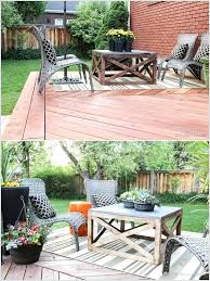 outdoor coffee table ideas rustic patio furniture plans