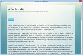 article generator software article creator essay generation  article generation result