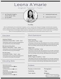 Teacher Cv Free English Teacher Cv Template Download 200 Resume Templates In