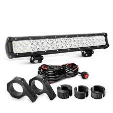 nilight 20 inch 126w combo led light bars & off road light UTV LED Light Bar Wiring Harness at 20 Inch Led Light Bar With Wiring Harness