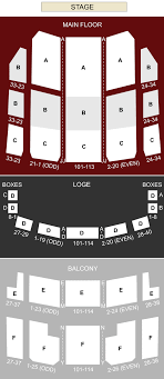 Rochester Americans Seating Chart Rochester Auditorium Theatre Rochester Ny Seating Chart