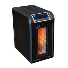 lifesmart um room infrared heater with remote
