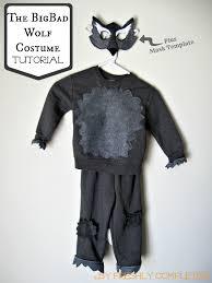 the big bad wolf costume tutorial