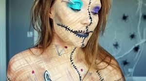 alice madness voodoo doll makeup tutorial original