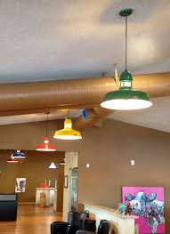 lights for office. Featured Customer | Colorful LED Pendant Lights Create Fun Office Vibe Lights For Office