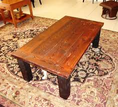 Good Amish Reclaimed Wood Plank Coffee Table Awesome Ideas