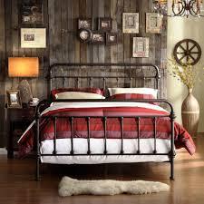 Metal Bedroom Furniture Set Full Size Iron Bed Set Victorian Metal Antique Bronze Frame