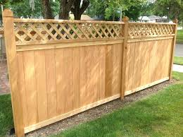 decorative wood fencing panels