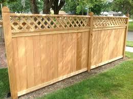 decorative wood fencing panels